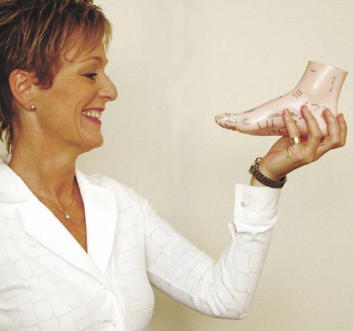 Rosanna Hands on Feet